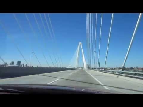 Crossing the Stan Musial Veterans Memorial Bridge