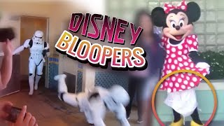 DISNEY CHARACTER BLOOPERS | Funny Disneyland / Disney World FAILS 2019 Pt. 2