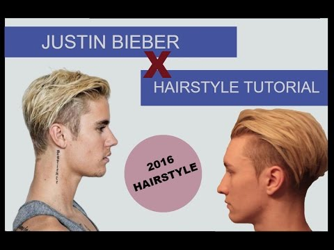 Justin Bieber 2016 Inspired Hairstyle + Tutorial