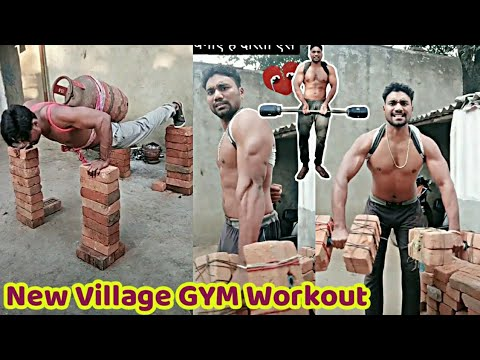 New Desi Style GYM Workout || Desi Muscular Bodybuilder || Bodybuilding .