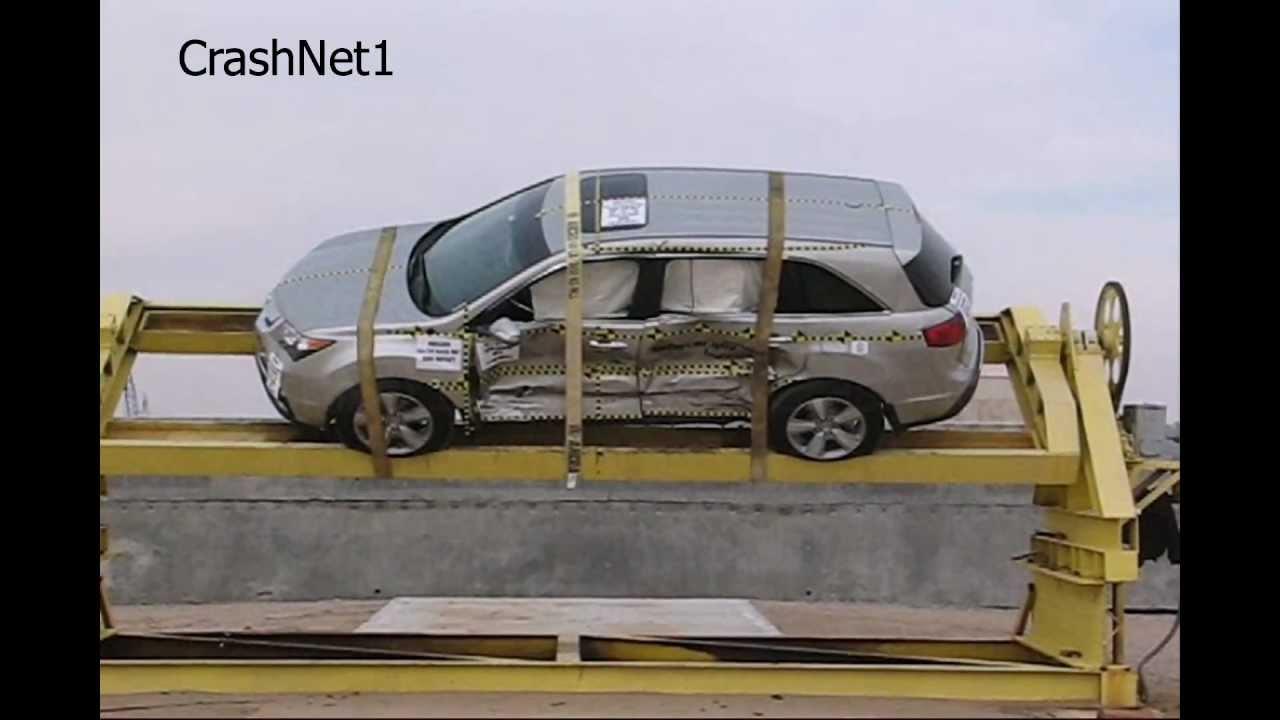 Acura Mdx 2010 Side Crash Test Nhtsa Crashnet1
