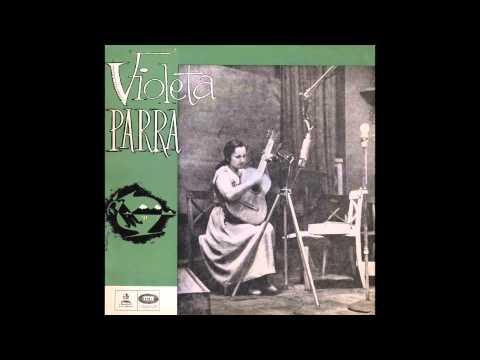 Violeta Parra - Canto y guitarra (1957) [Álbum completo]