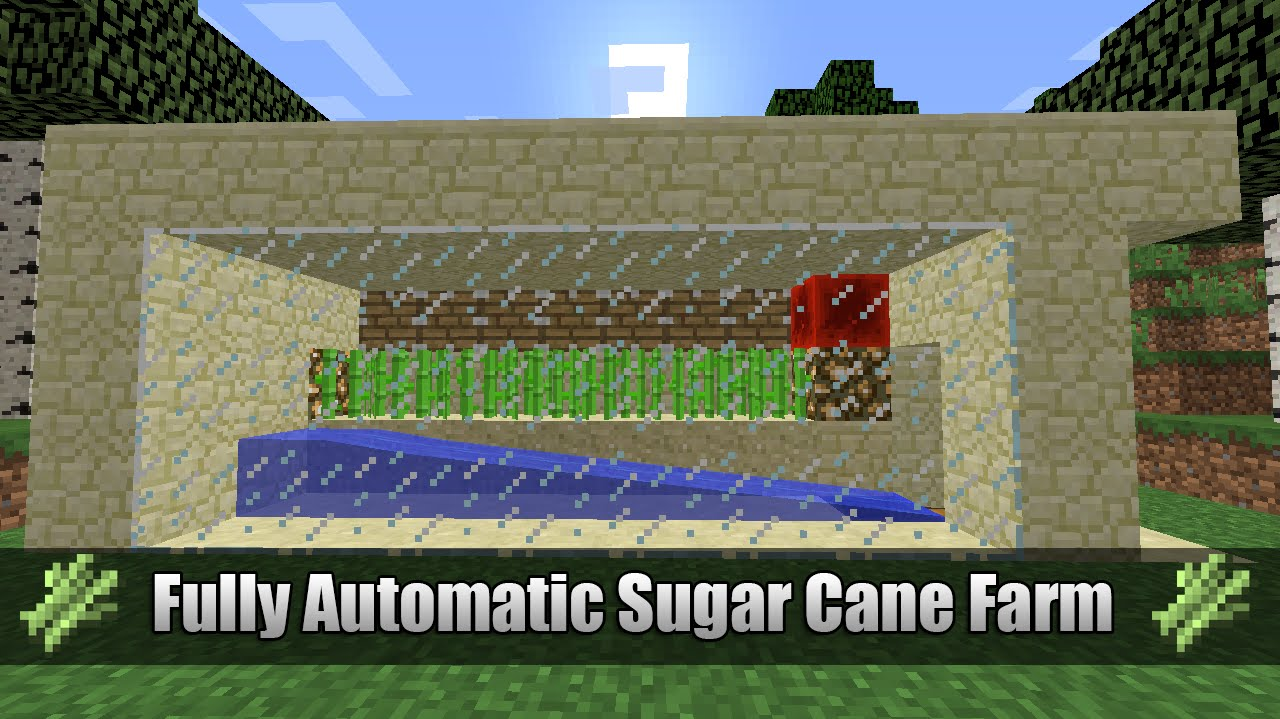 how to make a auto sugarcane farm
