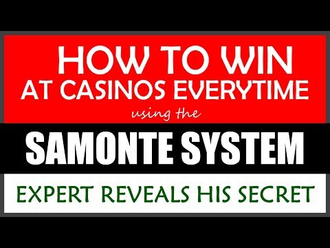 How To Win Consistently at Casinos - A Secret Revealed
