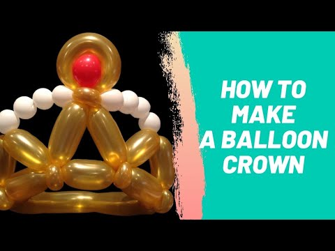 How to Make a Balloon Crown