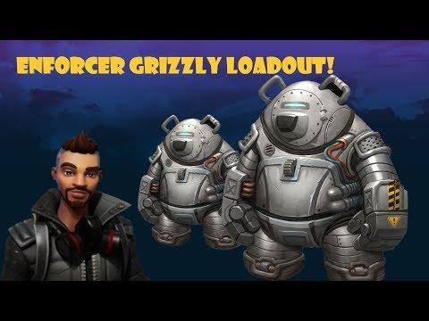 OP Outlander Build Enforcer Grizzly!! Fortnite Save The World!