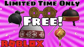 How To Get 5 *New* Free Accessories On Roblox | Roblox Luobu Week 3 Items