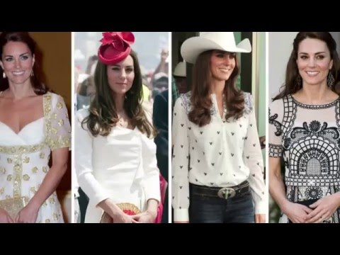 Kate Middleton's all-time best looks abroad