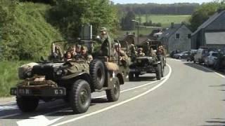 Celles 2009 Défilé de véhicules militaire