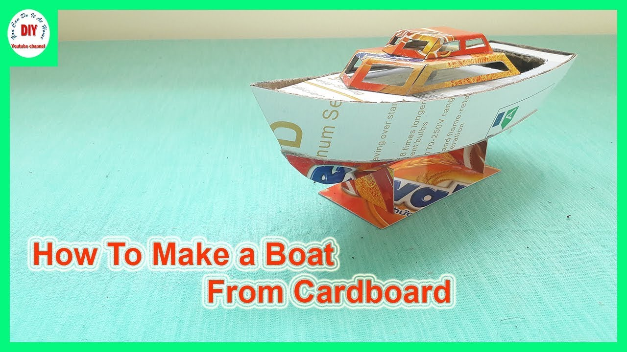 How to make a boat yourself 27