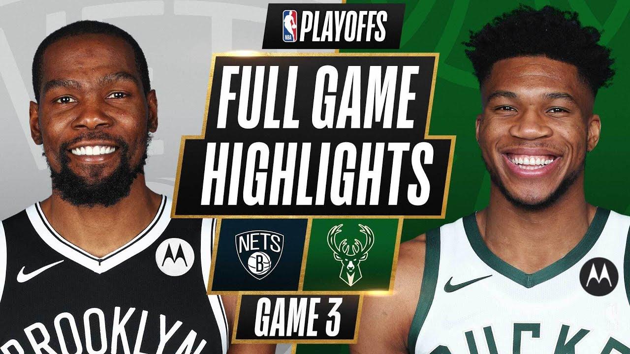 Nets vs. Bucks - Game Recap - June 10, 2021 - ESPN