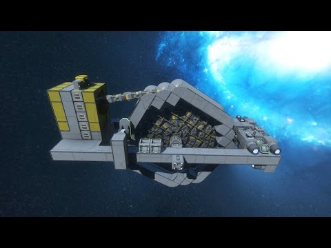 Space Engineers - Conveyor cable Ship