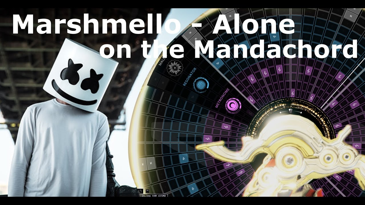Marshmello - Alone on Octavia's Mandachord (Pattern in Description)    Warframe by USS_DJMarv12
