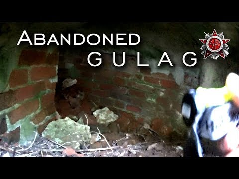 Exploring Abandoned Gulag In The Forest
