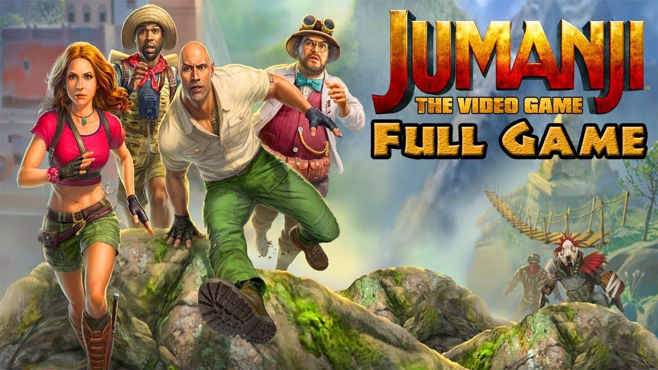 Download Jumanji: The Video Game 100% - Full Game Walkthrough / Longplay (HD, 60fps)