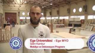 Ege Meslek Yüksekokulu - Mobilya ve Dekorasyon