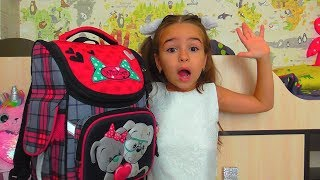 Lana Pretend Play Late for School Morning Routine!!!!