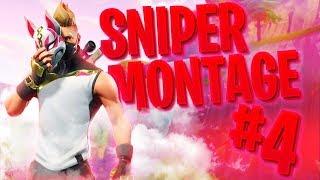 SNIPER MONTAGE #4 ~ (Fortnite Battle Royale)