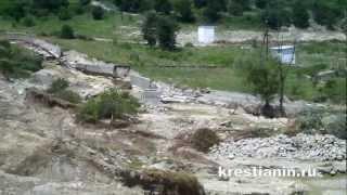 Ст. Нижнебаканская, Крымский р-н, после наводнения(