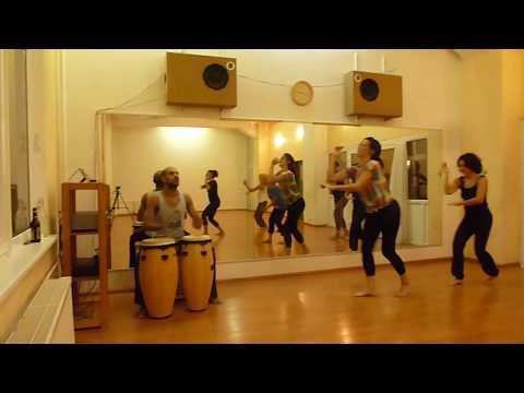 Afro Brasil Tanzkurs bei Carlos Frevo - Berlin