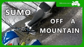 🔴Blood Mountain Motorcycle Crash | First Time on the Z125