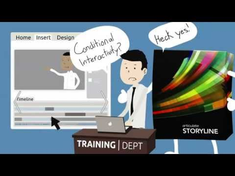 Articulate Storyline: All you need to create interactive e-learning