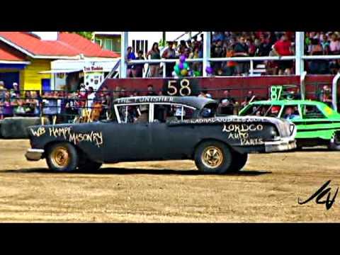 Salmon Arm Demolition Derby 2009