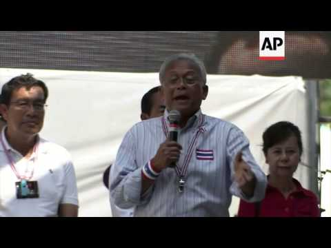 "Protest leader Suthep Thaugsuban declares general election a ""waste of money"""
