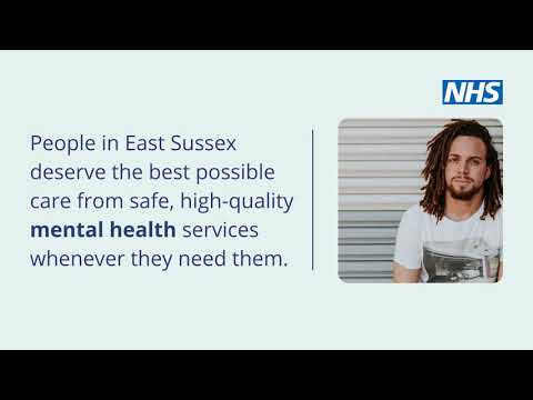 Working with you to improve mental health services in East Sussex
