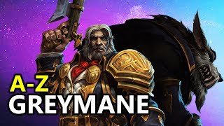 ♥ A - Z Greymane - Heroes of the Storm (HotS Gameplay)