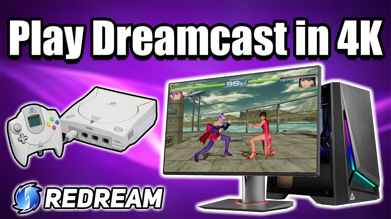 Play Dreamcast In 4K On PC,Mac,Linux and Android - Redream Full Setup Guide