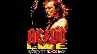 You Shook Me All Night Long Backing track (w/vocals)