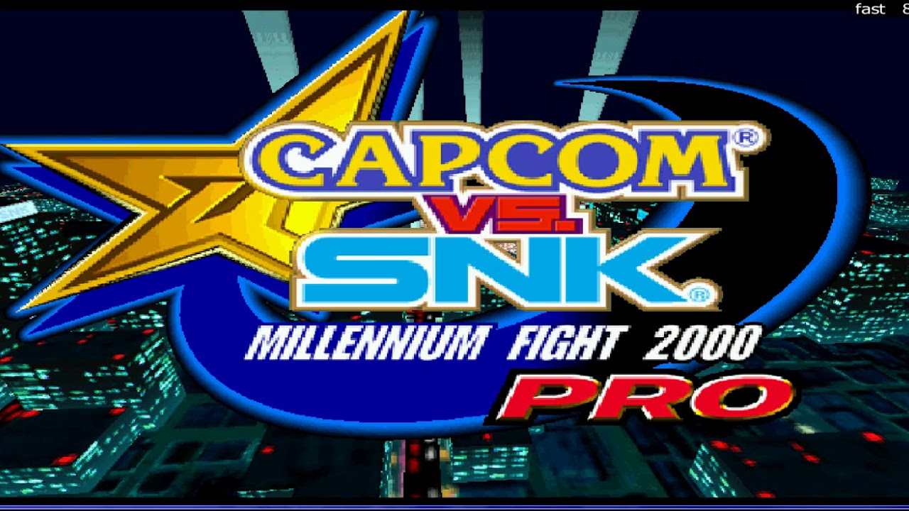 Capcom vs snk 2 mame