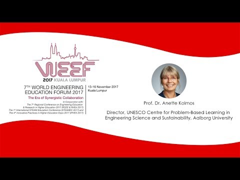 Transforming and Sustaining Change in Higher Education for Industrie 4.0 by Prof. Dr. Anette Kolmos
