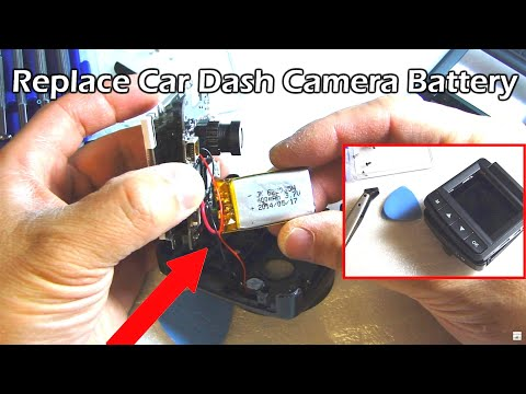 How To Replace Car Dashcam Internal Rechargeable Battery