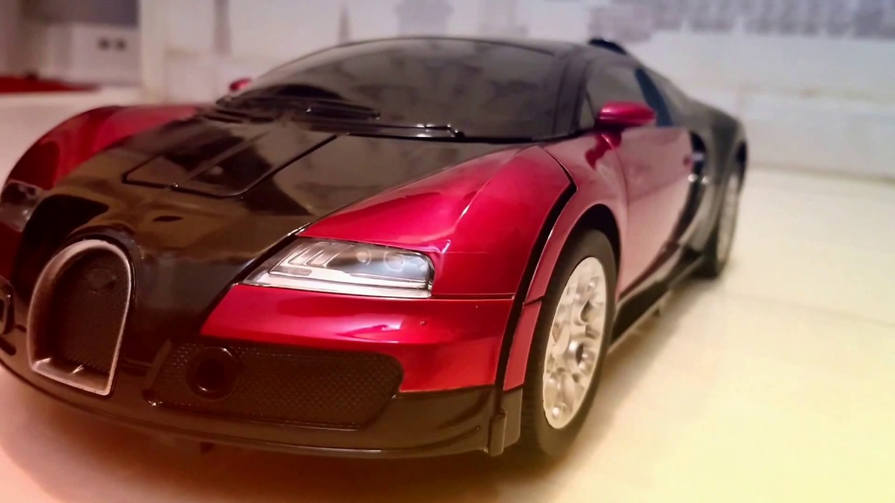 Car Transformer Bugatti Veyron