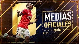 FIFA 18 | MEDIAS OFICIALES | 40-31
