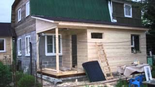 Строительство каркасной пристройки к дому(О чем это видео:горбачев., 2013-11-07T17:13:16.000Z)