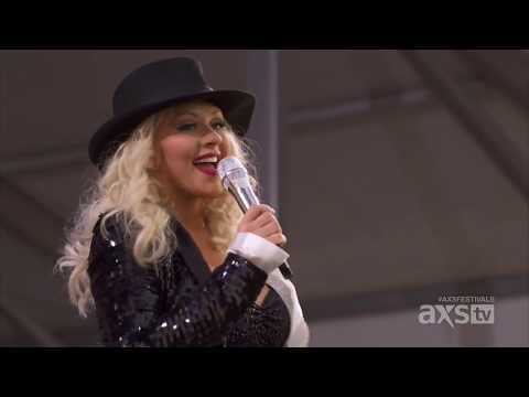 Christina Aguilera - New Orleans Jazz & Heritage Festival 2014 (HD)