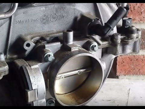 Mercedes Throttle Body Assembly Removal/Replacement DIY