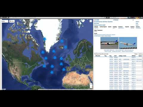 Inmarsat 3 F2 15W C Band AERO Reception Using Jaero And Virtual Radar