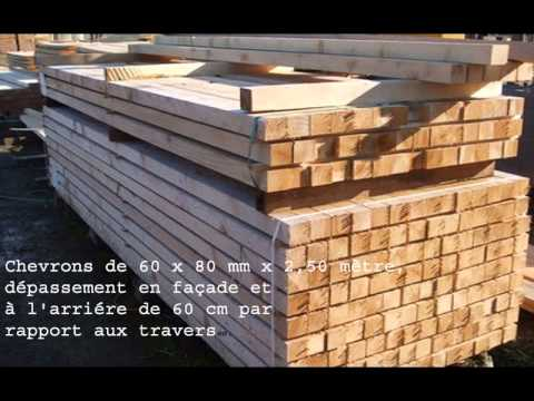 construire un abri pour le bois de chauffage youtube. Black Bedroom Furniture Sets. Home Design Ideas