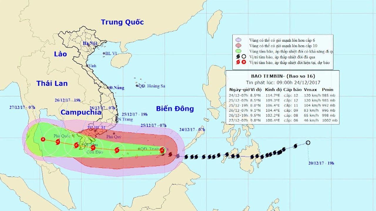 Tin bão mới nhất: Tin bão gần Biển Đông, cơn bão số 16 ...