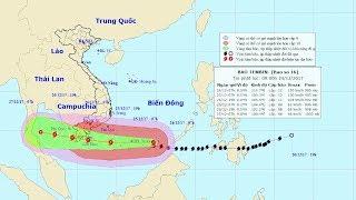 Tin bão mới nhất: Tin bão gần Biển Đông, cơn bão số 16