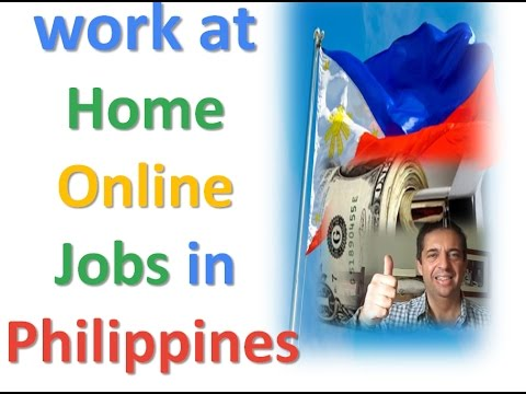 Work At Home Online Jobs In Philippines Youtube