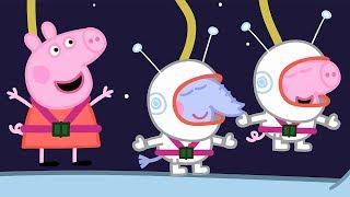 Peppa Wutz | Reise zum Mond - Weltraumwoche | Peppa Pig Deutsch Neue Folgen | Cartoons für Kinder