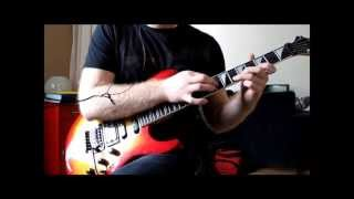 How to play Romanticide guitar solo by Nightwish
