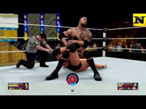 Stone Cold Vs The Rock(For The WWE Championship) [WWE 2K16]