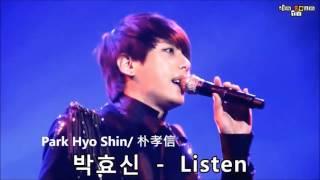 韓國4大歌王現場唱功比較 / Top 4 Korean Male Singers Live Comparison