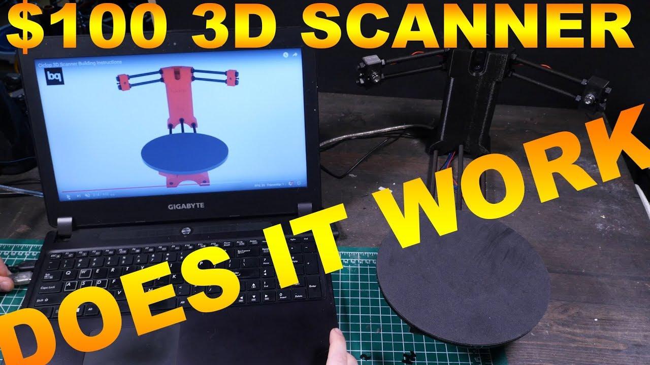 3D SCANNER BUILD - FAIL? CICLOP